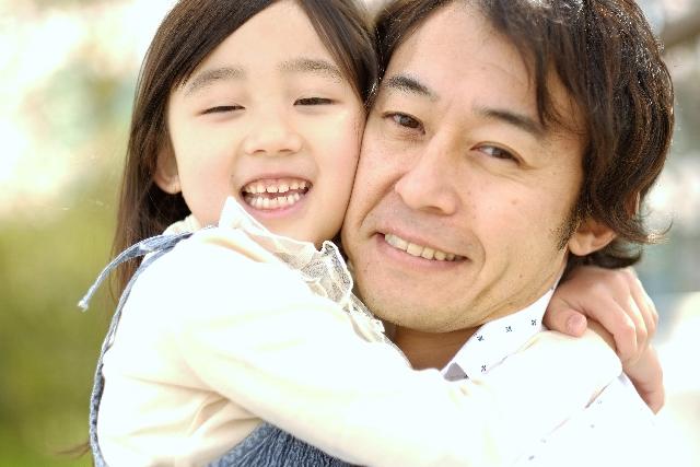 パパ抱っこ