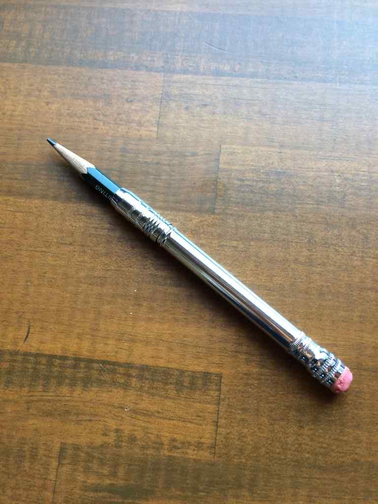 鉛筆補強軸