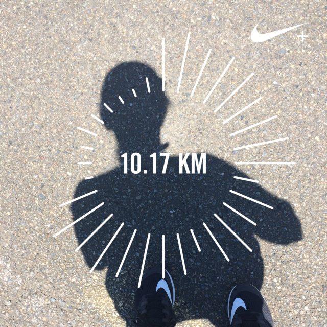 10キロ走れた